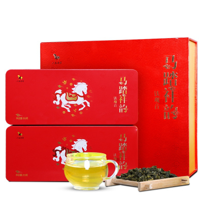 【买1送1】八马茶业 安溪特级铁观音清香型茶叶乌龙茶礼盒装504克