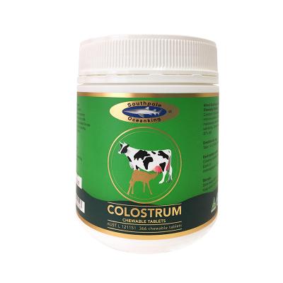 澳洲直郵 假一賠十 Southpole Oceanking 牛初乳片 咀嚼片 奶片 加強兒童抵抗力 366粒片劑瓶裝