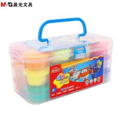 晨光(M&G)JKE03977超級飛俠4D超輕粘土24色 兒童橡皮泥 彩泥 學生彩泥 手工玩具套裝 學生禮盒