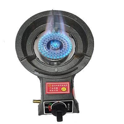 節能大家用猛火爐單個商用鑄鐵燃氣煤氣液化氣天然氣沼氣臺式單灶 小家用天然氣(直徑24)