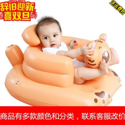 宝宝学靠坐神器儿学坐小沙学做训练坐凳婴儿充气座椅辅助气垫