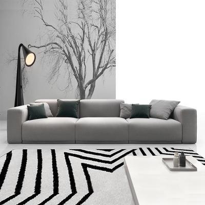 HOTBEE布艺沙发客厅小户型现代简约双人三人位乳胶舒适轻奢北欧风格沙发