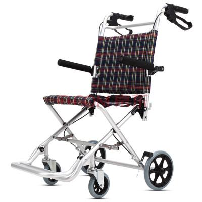 凱洋輪椅KY9001-36鋁合金可折疊醫用老人兒童手推車家用護理代步車輕便便攜可上飛機體積小外出旅游專用輪椅 送手提袋子