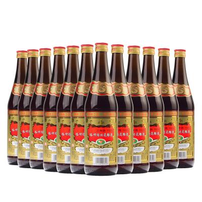 塔牌三年陳花雕酒 15度 600ml*12瓶 箱裝 半干型 手工釀造黃酒