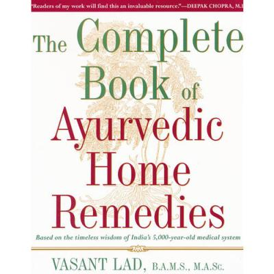 COMPLETE BOOK AYURVEDIC HOME(ISBN=9780609802861) 英文原版