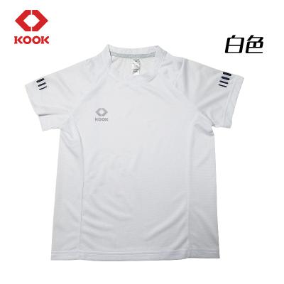 KOOK足球服套裝男孩小學生反光足球訓練服球定制比賽運動衣兒童短袖隊服