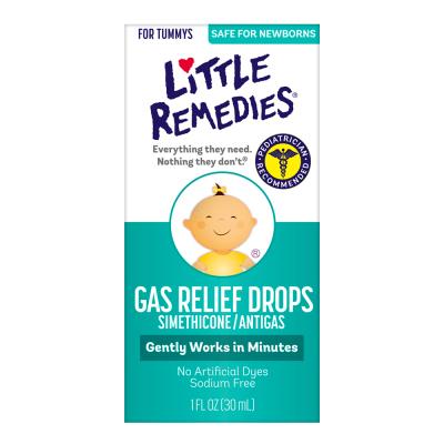美國原裝進口小鼻子 (Little Remedies)西甲硅油 嬰兒腸脹氣緩和滴劑30ml