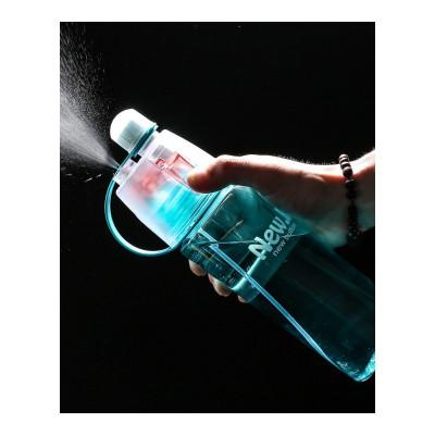 18公主(SHIBAGONGZHU)韩国军训降温红杯子运动喷雾水杯女学生创意便携可爱儿童水壶