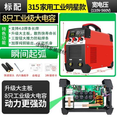 閃電客315 400電焊機工業級 220v380v家用小型雙電壓兩用直流全 3154家用工業明星款標配【強勁火力8電容】