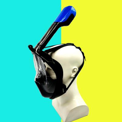 2019新款 DOVOD浮潜全面镜 学游泳神器 户外游泳潜水装备 成人儿童通用游泳全面罩 送泳镜 库存清货产品
