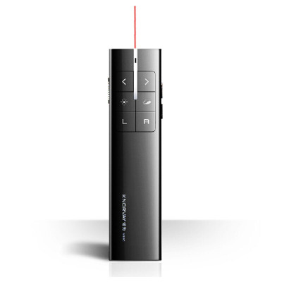 諾為N99C黑色 無線 PPT翻頁筆 激光筆 遙控筆 電子教鞭投影筆 鼠標筆 翻頁器 空中飛鼠演示器 一鍵標注電子墨水