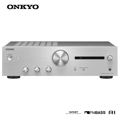 Onkyo/安橋 A-9110 合并式立體聲功放 2.1 聲道 HiFi功放 銀色