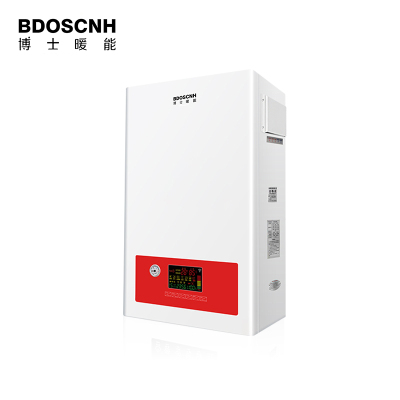 博士暖能(BOSNEN) 16KW电采暖炉智能变频供暖气片洗浴两用电壁挂炉家用节能地暖电锅炉