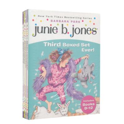 朱尼·瓊斯系列9-12套裝進口原版 平裝 經典繪本小學階段(7-12歲) [平裝] [6-12歲