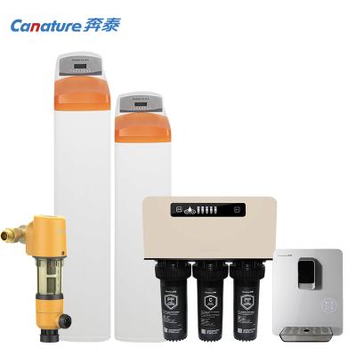 開能(Canature)奔泰凈水器 家用 前置過濾器+軟水機+管線機+中央凈水機+純水機專為別墅設計