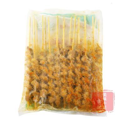 【有檢疫證】烤面筋串20串 燒烤辣味面筋半成品食材油炸腌制面筋豆制品生鮮調理