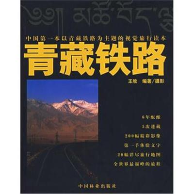 正版書籍 中國本以青藏鐵路為主題的視覺旅行讀本——青藏鐵路 97875038452