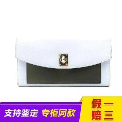 【二手9成新】DIOR/迪奥 拼色CD TWIST系列链条钱包 二手包包
