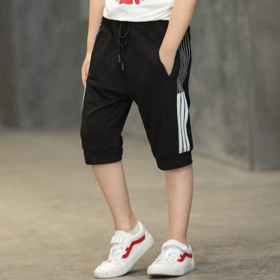 男童短裤夏季薄款外穿中大童裤子大码儿童七分裤夏天运动裤宽松胖