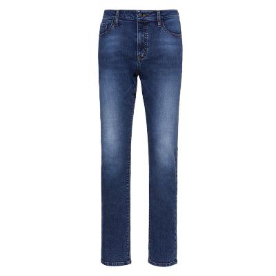 碼尚定制MatchU男士Sorona環保面料高彈牛仔褲 購買后會收到短信鏈接在線量2020年春秋季新款直筒可定做