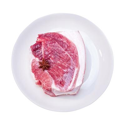 野蛮香 东北长白山脉散养 黑猪肉 后腿肉 新鲜土猪肉 400g