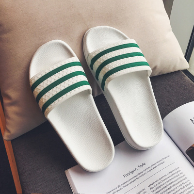 跨馬KYMA夏季女士拖鞋經典時尚三條杠居家涼鞋人氣一字拖鞋舒適柔軟戶外拖鞋T