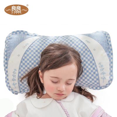 良良(liangliang)枕头 婴儿枕0-1-5岁防多汗植物颗粒苎麻加长纠正偏头初生儿童枕头宝宝护枕幼儿护形枕