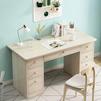 柜形象電腦臺式桌家用簡約現代簡易單人學生寫字臺臥室小桌子經濟型書桌