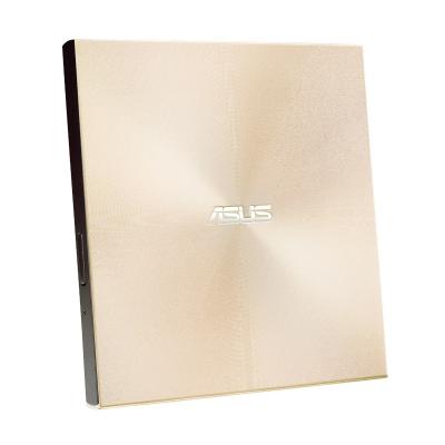 華碩(ASUS)SDRW-08U9M-U 外置DVD刻錄光驅 支持USB/Type-C接口 兼容蘋果MAC系統 金色