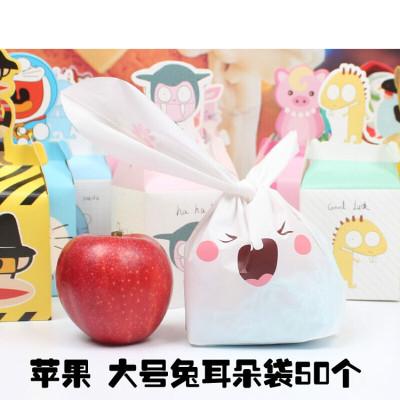 圣诞苹果盒 苹果盒 圣诞平安夜包装盒子 平安果包装袋 卡通可爱立体清新05