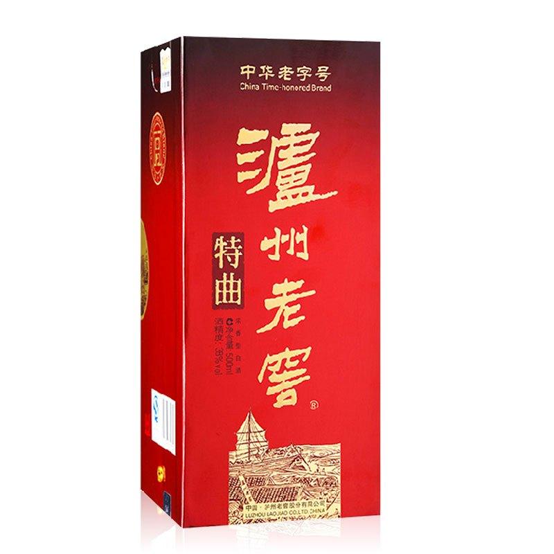 泸州老窖 特曲 38度 500ml 浓香型白酒