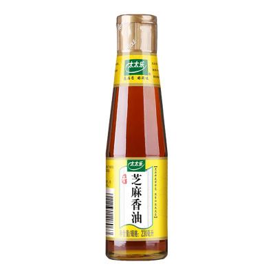 太太樂芝麻油230ml壓榨食用芝麻香油火鍋涼拌面調味廚房調料