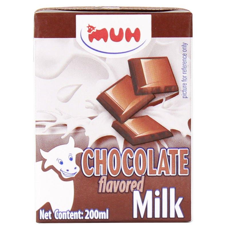 丹麦进口 甘蒂牧场(MUH)牧牌 巧克力味牛奶 200ml*12盒 进口风味牛奶 整箱