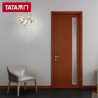 TATA木门 室内客厅套装门卫生间门厕所门实木复合免漆木门 @013