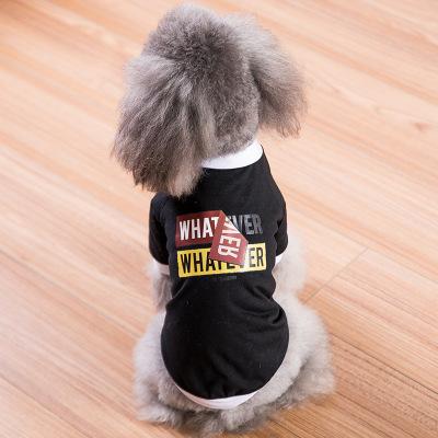 2019新款小狗狗衣服春装薄款泰迪比熊小型犬猫咪夏装宠物夏季潮牌