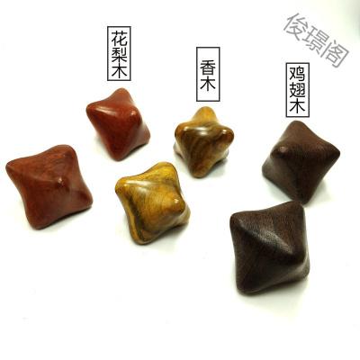 【蘇寧好貨】六角按摩木質手把件越南香木按摩器手玩星天然木質六角手球