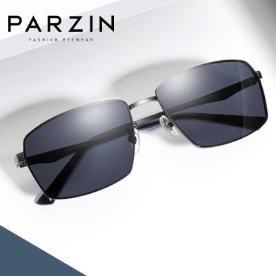 帕森偏光太陽鏡男 金屬方框眼鏡 司機開車駕駛鏡潮墨鏡 新品8235A