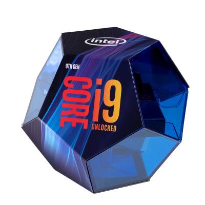 新品 Intel/英特尔 酷睿i9-9900k 全新九代CPU 盒装处理器8核16线程 9900K