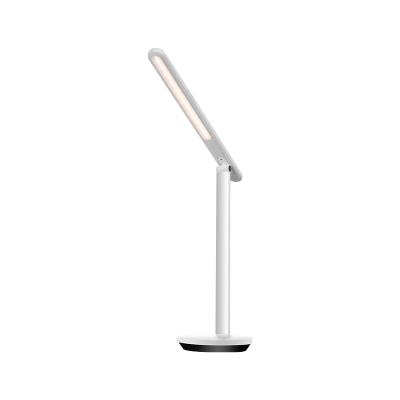 Yeelight充電折疊LED臺燈pro無可視頻閃超長續航高顯指學生兒童學習臺燈臥室床頭寫字燈