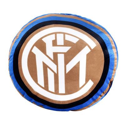 国际米兰俱乐部Inter Milan靠垫居家沙发客厅床头办公汽车柔软定制抱枕 深蓝色