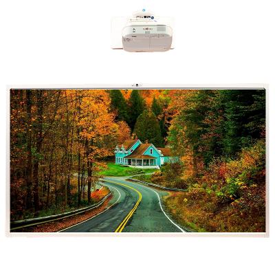 【套餐】NOMICO 90英寸智能会议触摸电子白板多媒体教学投影一体机(商用系i7版)+爱普生CB-696Ui投影仪