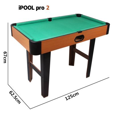 苏宁放心购大号1.7台球桌1.3儿童台球桌标准美式家用成人桌球台不可折叠简约新款