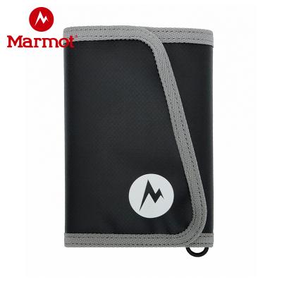 Marmot/土撥鼠春夏款多功能戶外男士女士通用時尚錢包留言所需顏色