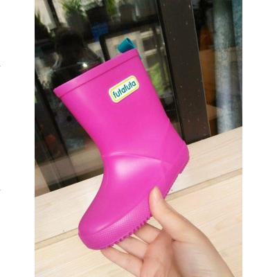 儿童雨鞋雨靴男童女童小孩水鞋套鞋胶鞋防滑防水鞋套四季小童