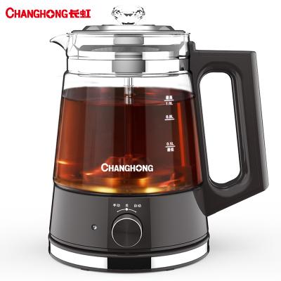 長虹(CHANGHONG)煮茶器全自動家用蒸汽煮茶壺黑茶普洱玻璃電熱水壺保溫蒸茶壺
