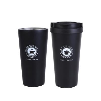 三极户外(Tripolar) TP3610 保温杯时尚创意不锈钢保温杯商务办公咖啡杯不锈钢保温杯500ml牛奶泡茶水杯
