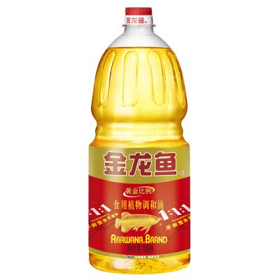 金龙鱼 黄金比例食用植物调和油1.8L 食用油