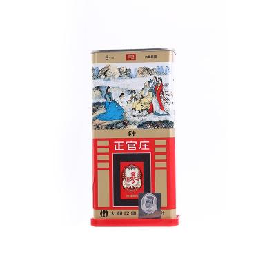 正官莊高麗參良參50支37.5g(4根)韓國原裝進口 六年根人參 紅參(Korean Red Ginseng) 滋補禮品