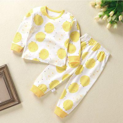 兒童秋衣秋褲套裝純棉女童男孩嬰兒內衣全棉春秋幼兒衣服寶寶睡衣