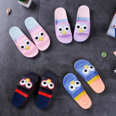 兒童拖鞋夏季男童女童涼拖鞋軟底寶寶室內防滑可愛居家用小孩托鞋